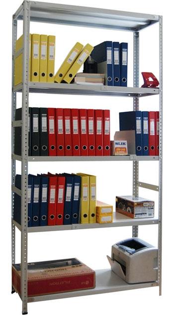 Стеллажи архивные СТФ  (125 кг на полку)