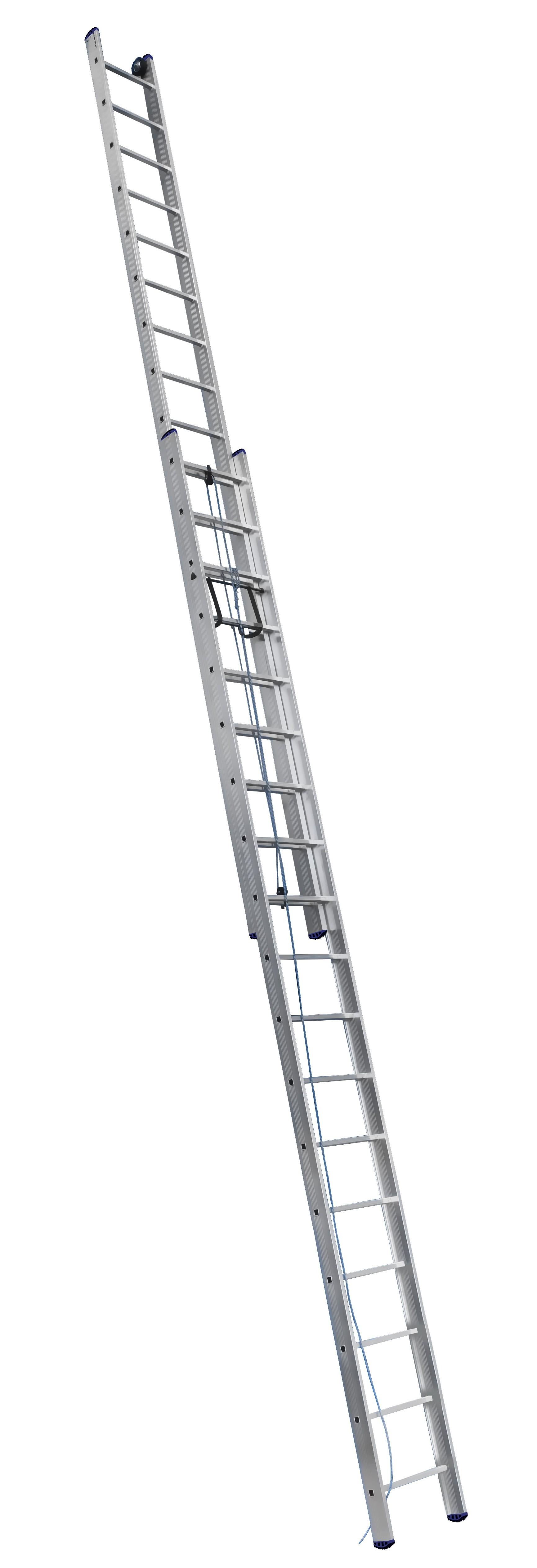 Лестницы усиленные профессиональные с канатной тягой
