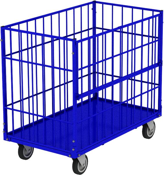 Серия КТМ - трубчатые контейнеры на колесах