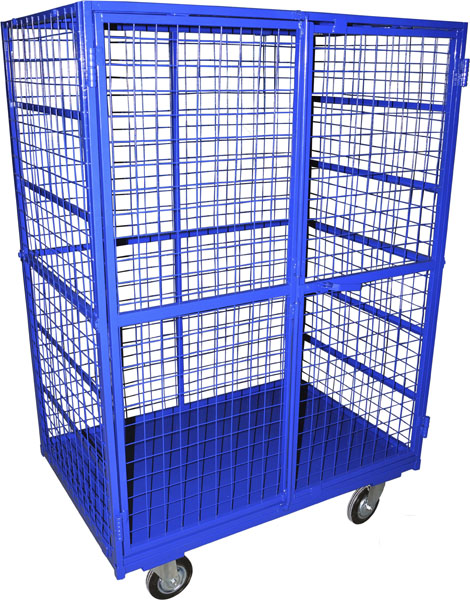 Серия ШСМ - сетчатые шкафы на колесах