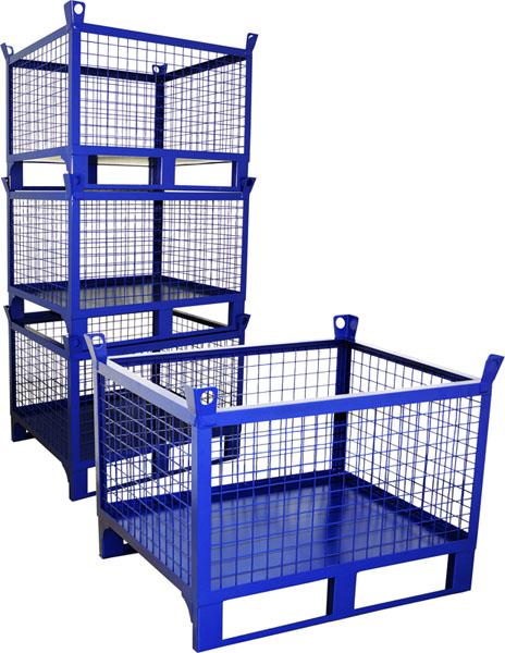 Серия КС - цельносварные контейнеры для складирования