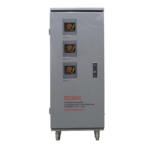 Стабилизаторы трехфазные электронные (релейные)