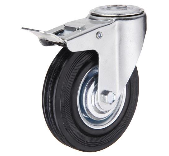 Промышленные колеса под болт со стопором