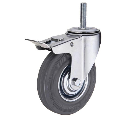 Аппаратные колеса болтовое крепление со стопором