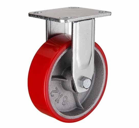 Неповоротные колеса большегрузные полиуретановые
