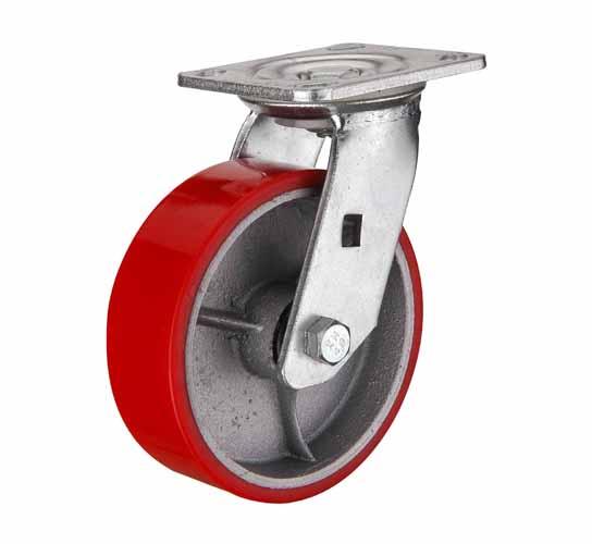 Поворотные колеса большегрузные полиуретановые