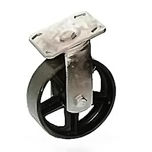 Металлические колеса термостойкие поворотные